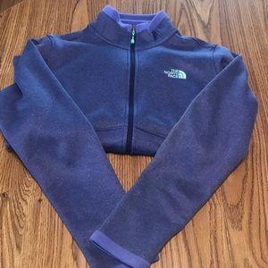 Women's fleece fall jacket